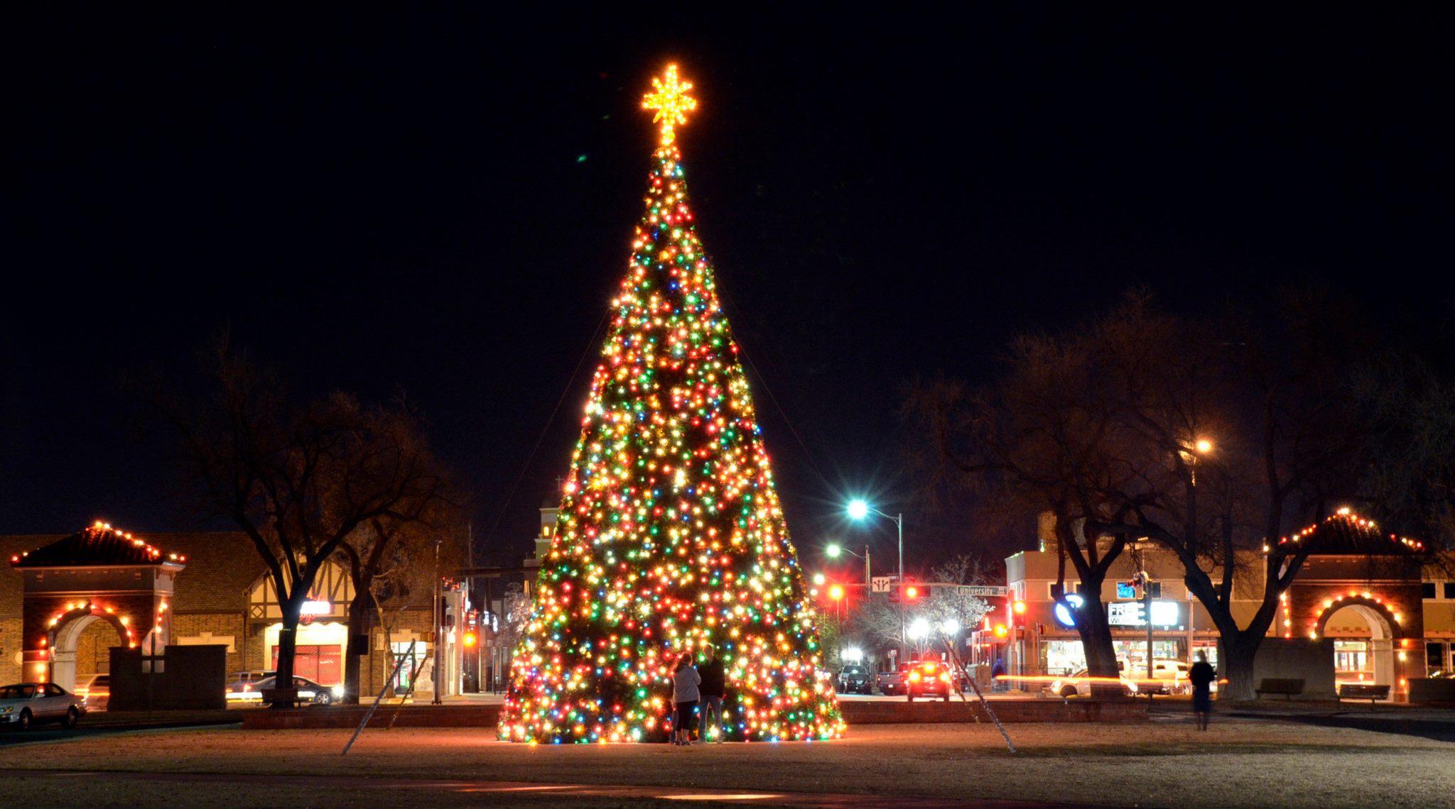 Carol of Lights at Texas Tech University