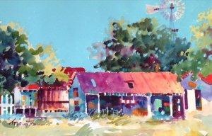 West Texas Watercolor Society Winter Membership Show @ Buddy Holly Center | Lubbock | Texas | United States