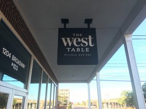 the west table