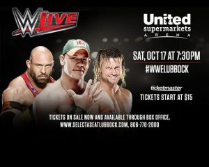 WWE Live @ United Supermarkets Arena | Big Wells | Texas | United States
