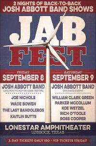 JAB Fest @ Lonestar Amphitheater  | Lubbock | Texas | United States
