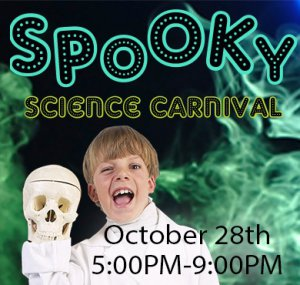 Spooky Science Carnival @ The Science Spectrum & OMNI Theater   Lubbock   Texas   United States