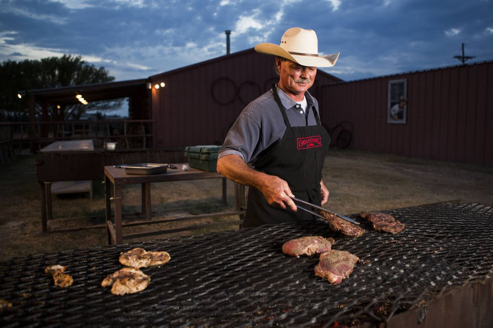 John Cagle with Cagle Steaks