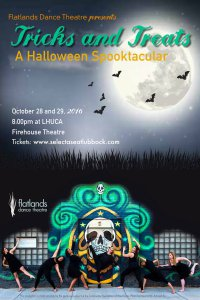 Tricks and Treats: A Halloween Spooktacular presented by Flatlands Dance Theatre @ Firehouse Theatre at LHUCA | Lubbock | Texas | United States