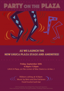Party On The Plaza @ LHUCA | Lubbock | Texas | United States