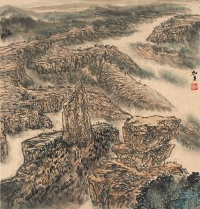 Reception and Artist's Talk for West x East - Paintings of American Canyonlands by Li Jiaduo @ International Cultural Center | Lubbock | Texas | United States