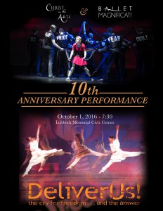 Christ in the Arts 10th Anniversary Performance @ Lubbock Memorial Civic Center   Lubbock   Texas   United States