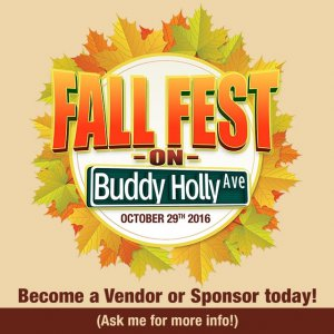 Fall Fest on Buddy Holly Ave. @ Depot District | Lubbock | Texas | United States