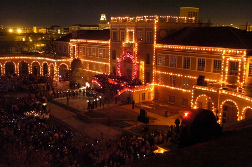 59th annual carol of lights visit lubbock - Texas Tech Christmas Decorations