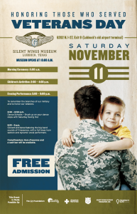 Veterans Day Celebration @ Silent Wings Museum | Lubbock | Texas | United States