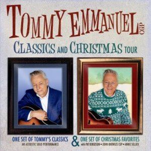 Tommy Emmanuel - Classics and Christmas Tour @ Cactus Theater | Lubbock | Texas | United States