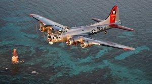 B-17 Aluminum Overcast Tour @ Hub City Aviation Academy's Hangar | Lubbock | Texas | United States