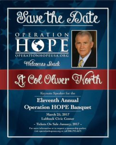 Operation HOPE Banquet @ Lubbock Memorial Civic Center Banquet Hall | Lubbock | Texas | United States