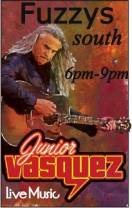 Junior Vasquez at Fuzzy's Tacos South @ Fuzzy's Tacos Shop South | Lubbock | Texas | United States