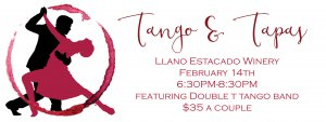 Tango and Tapas @ Llano Estacado Winery  | Slaton | Texas | United States