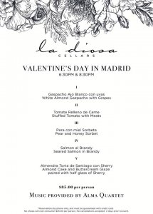Valentine's Day in Madrid @ La Diosa Cellars | Lubbock | Texas | United States