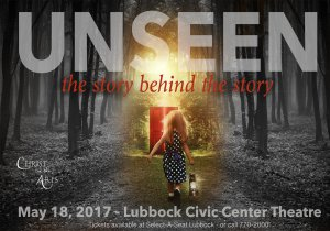"""Unseen - The Story Behind the Story"" @ Lubbock Memorial Civic Center Theater 