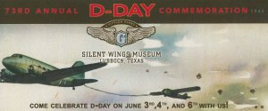 Silent Wings Museum: 73rd Anniversary of D-Day @ Silent Wings Museum | Lubbock | Texas | United States