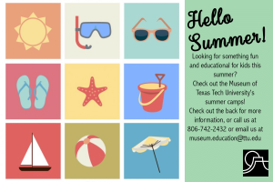 Museum Summer Camp: Wizards @ Museum of Texas Tech University | Lubbock | Texas | United States