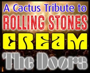 Classic 60's Rock: Tribute to The Rolling Stones, Cream & The Doors @ Cactus Theater | Lubbock | Texas | United States