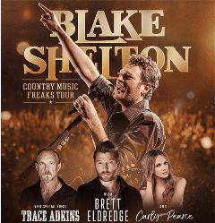 Blake Shelton: Country Music Freaks Tour @ United Supermarkets Arena | Lubbock | Texas | United States