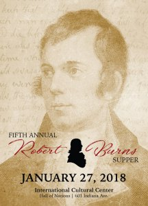 Fifth Annual Robert Burns Supper @ International Cultural Center | Lubbock | Texas | United States