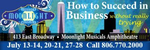 "LMM: ""How to Succeed in Business Without Really Trying"" @ Moonlight Musicals Amphitheater 