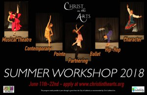 Christ in the Arts Summer Workshop @ Christ in the Arts Studio | Lubbock | Texas | United States