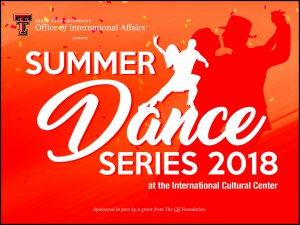 Summer Dance Series 2018 - Swing Dancing @ International Cultural Center - Texas Tech  |  |  |