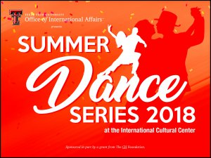 Summer Dance Series - Argentine Tango @ International Cultural Center at Texas Tech | Lubbock | Texas | United States