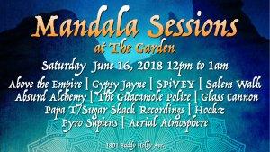 Mandala Sessions @ The Garden | Lubbock | Texas | United States