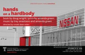 TTU School of Theatre and Dance presents Hands on a Hardbody @ McGavock Nissan | Lubbock | Texas | United States