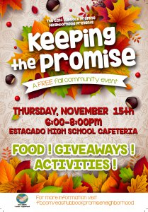 Keeping the Promise @ Estacado High School Cafeteria | Lubbock | Texas | United States
