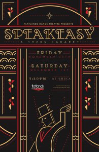 Speakeasy: A 1920s Cabaret by Flatlands Dance Theatre @ LHUCA Firehouse Theatre | Lubbock | Texas | United States