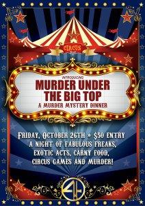 Murder Under The Big Top - Murder Mystery Dinner @ 4ORE! Golf | Lubbock | Texas | United States