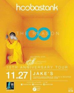 Hoobastank + Secondhand Serenade @ Jake's Backroom | | |