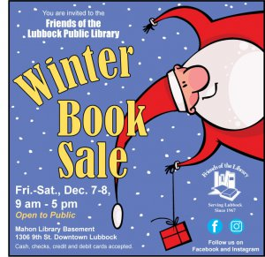 Friends of the Lubbock Public Library Winter Book Sale @ Mahon Library Basement | Lubbock | Texas | United States