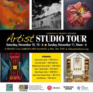 Take in the Local Color! Lubbock's Artist Studio Tour @ Various Studios
