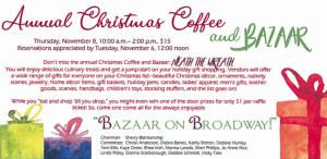 Lubbock Women's Club Christmas Bazaar Brunch @ Lubbock Women's Club   Lubbock   Texas   United States
