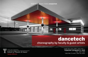 TTU School of Theatre and Dance Presents: Dance Tech @ Charles Adams Studio Project - 5&J Gallery