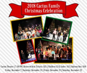Cactus Family Christmas Celebration @ Cactus Theater