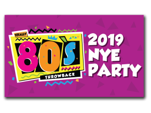 80's Themed New Year's Eve Party! @ 4ORE! GOLF
