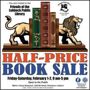 Friends of the Library Half Price Sale! @ Mahon Library downtown