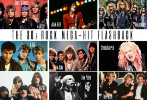 The 80's Rock Mega Hit Flashback @ Cactus Theater