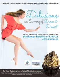 Flatlands Dance Theatre presents Delicious: An Evening of Dance and Dessert @ Firehouse Theatre at LHUCA