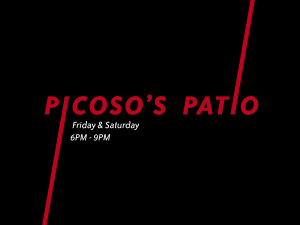 Live music on the Patio @ Picosos