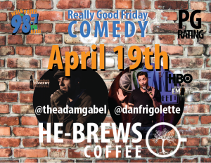 Really Good Friday PG RATED @ He-Brew's Coffee