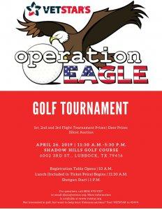 VetStar - Operation Eagle Golf Tournament @ Shadow Hills Golf Course
