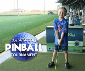 LIVE PLAY PINBALL TOURNAMENT @ 4ORE! Golf |  |  |