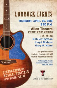 Lubbock Lights @ Student Union Building - Allen Theater